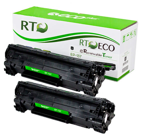 RT Compatible Canon 137 9435B001AA Toner Cartridge (2-Pack)