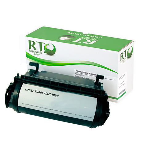 Lexmark 12A5745 Compatible Toner Cartridge