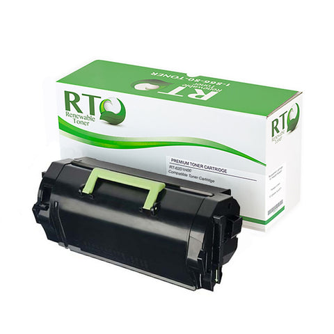 RT Compatible Lexmark 621H 62D1H0 Toner Cartridge