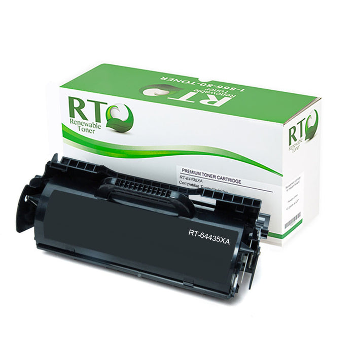 RT Compatible Lexmark 64435XA Toner Cartridge
