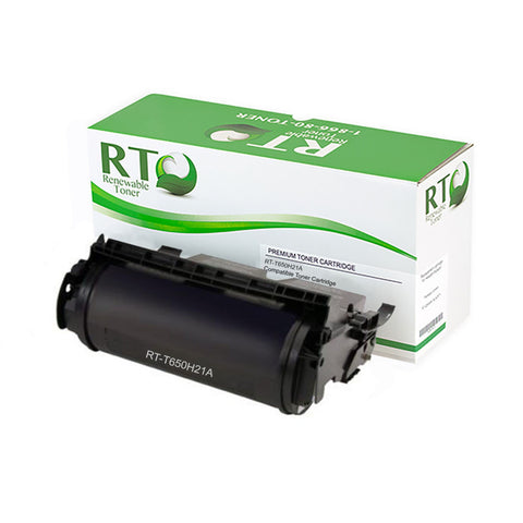 Lexmark T650 | T650H21A Compatible Toner Cartridge