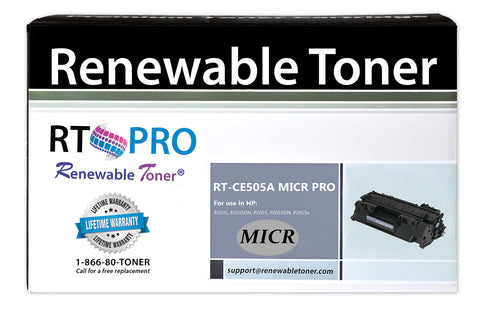 RT PRO 05A | CE505A Compatible MICR Toner Cartridge