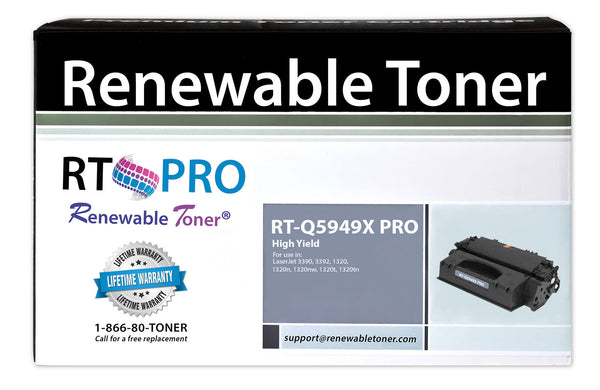 RT PRO 49X | Q5949X Compatible Toner Cartridge, High Yield