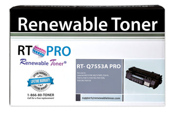 RT PRO Compatible HP 53A Q7553A Toner Cartridge