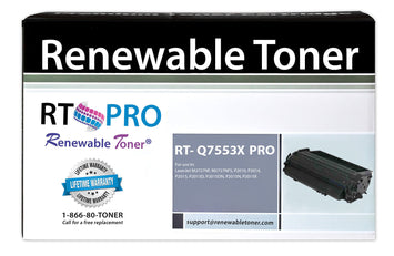 RT PRO Compatible HP 53X Q7553X Toner Cartridge, High Yield