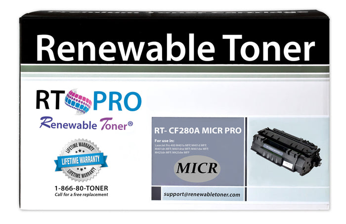 RT PRO Compatible HP 80A CF280A MICR Cartridge