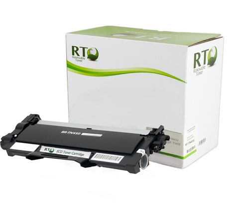 Renewable Toner TN-450 Compatible Toner Cartridge, High Yield