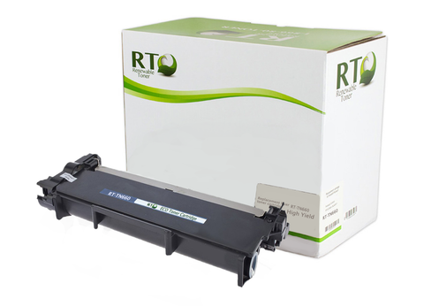 RT Compatible TN-660 Toner Cartridge (Black)
