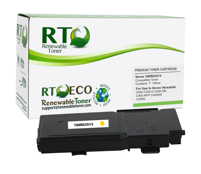 RT Compatible Xerox 106R03513 Toner Cartridge (Yellow)