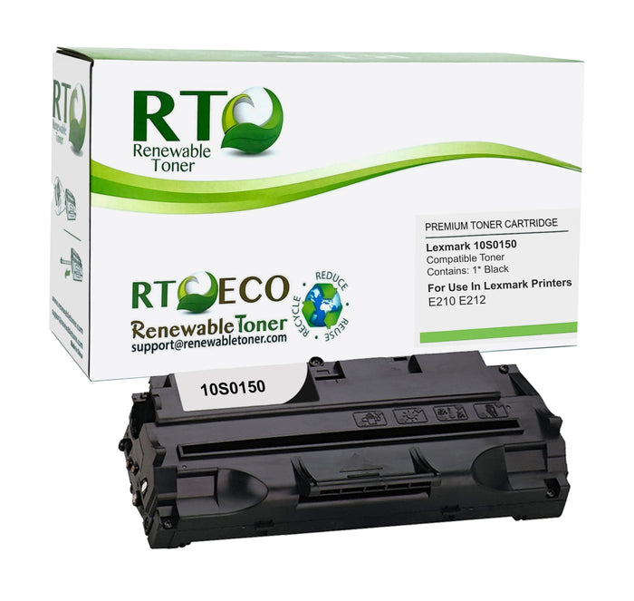 RT Compatible Lexmark 10S0150 Toner Cartridge