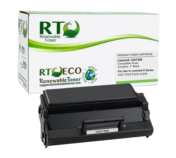 RT Compatible Lexmark E321 12A7305 Toner Cartridge (High Yield)