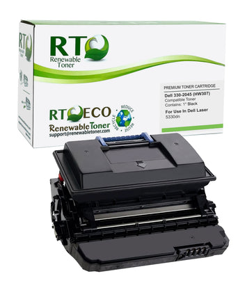 RT Compatible Dell 330-2045 HW307 Toner Cartridge (High Yield)