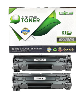 RT Compatible HP 85A CE285A Toner Cartridge (2-Pack)