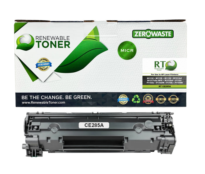 RT 85A CE285A Compatible MICR Toner Cartridge