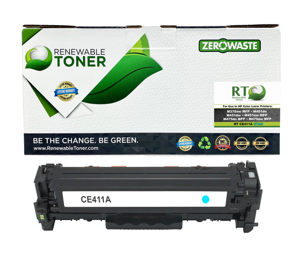 RT Compatible HP 305A CE411A Toner Cartridge (Cyan)