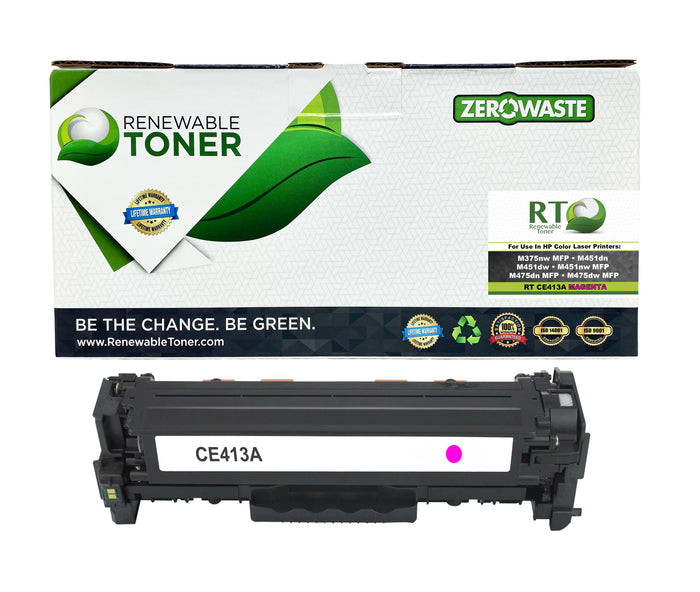 RT Compatible HP 305A CE413A Toner Cartridge (Magenta)