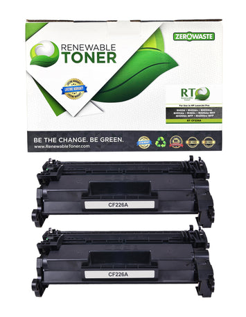 RT Compatible HP 26A CF226A Toner Cartridge (2-pack)
