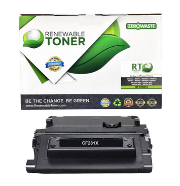 RT Compatible HP 81X CF281X Toner Cartridge, High Yield