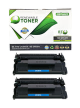 RT Compatible HP 87A CF287A Toner Cartridge (2-Pack)