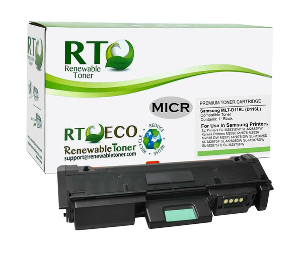 RT MLT-D116L Compatible MICR Toner Cartridge