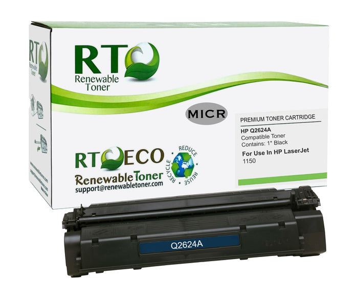 RT Compatible HP 24A Q2624A MICR Cartridge