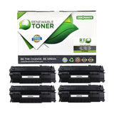 RT Compatible HP 49A Q5949A Toner Cartridge (4-pack)