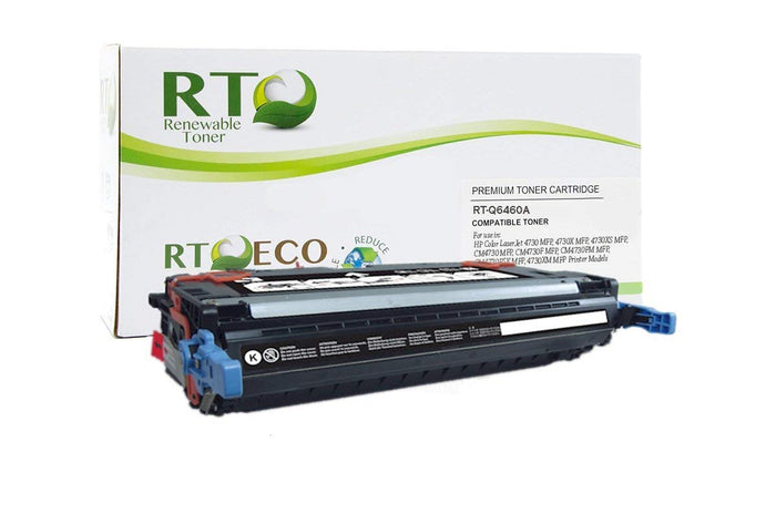 RT Compatible HP 644A Q6460A Toner Cartridge (Black)