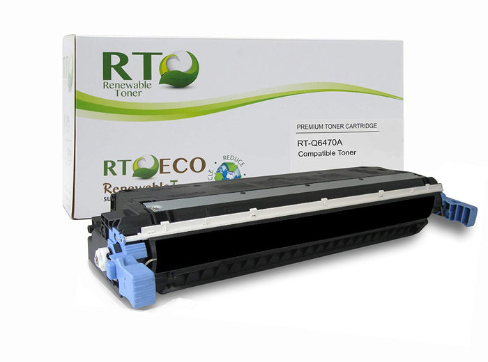 RT Compatible HP 501A Toner Cartridge (Black)