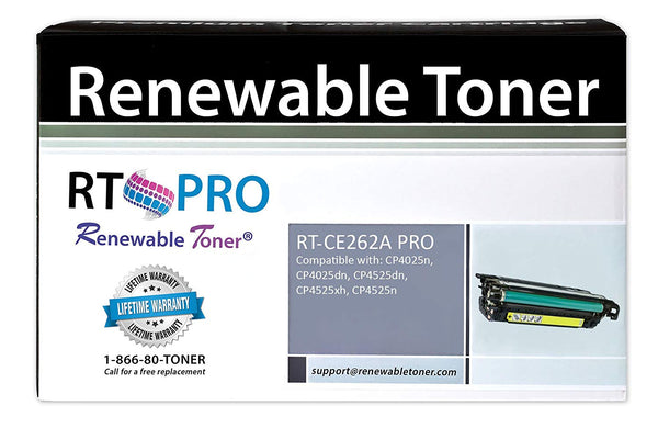 RT PRO CE262A 648A Compatible Toner Cartridge (Yellow)