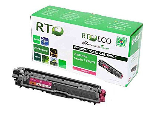 RT Compatible Toner Cartridge Replacement for Brother TN-245M TN-255M (Magenta)