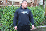 Black Hooded Sweat Shirt