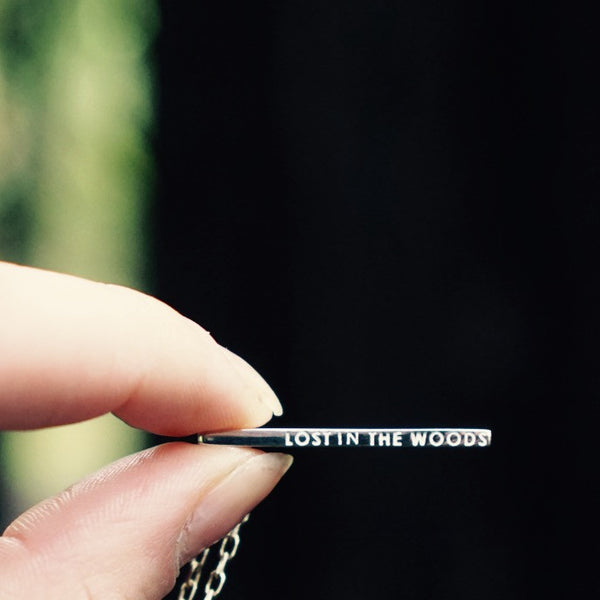 Lost In The Woods Necklace - Gold