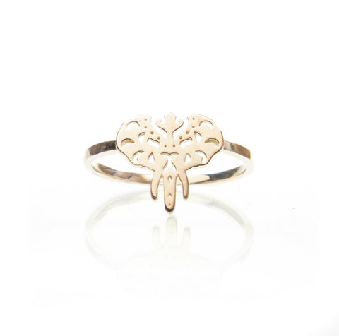 Indie Elephant Ring - Gold
