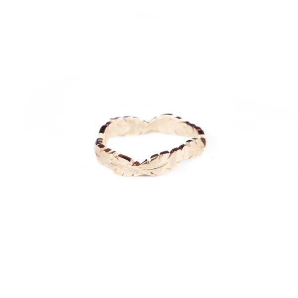 Jungle Leaf Ring - Gold