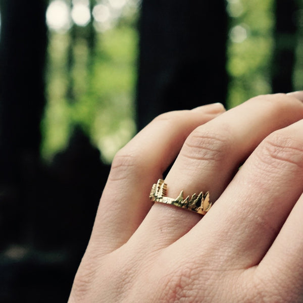 Lost Forests Ring - Silver