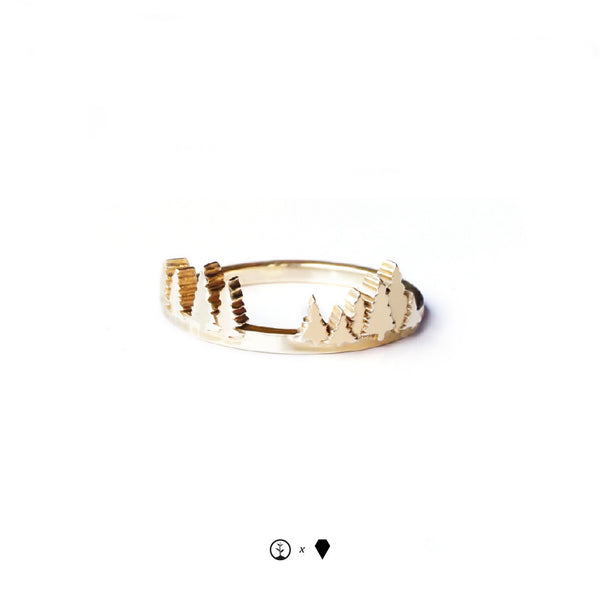 Lost Forests Ring - Gold