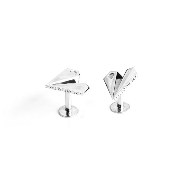 Skybound Paper Plane Cufflinks