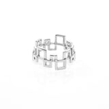 Squared Ring - Silver