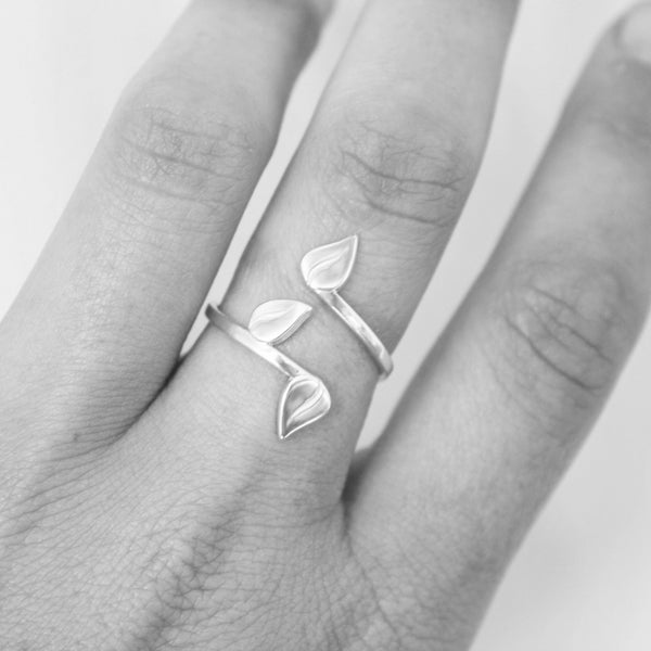 Vines Ring - Silver