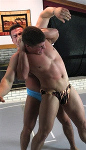 Dominic Braden charron full Nelson submission hold submit