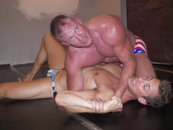 Devin Michael Crowe arm lock arms pecs chest