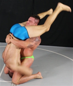 Braden Charron Wolf tombstone piledriver reverse bearhug submission