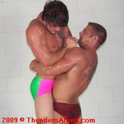 diesel big sexy lift and carry bearhug submission hold submit
