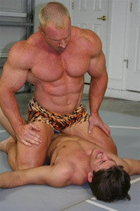 Zman Conan Big Sexy pinned arms biceps pecs chest abs