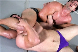 Hartley Python headscissors submission hold submit