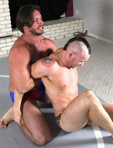 dakota lex arm submission hold submit pain torture thunders arena