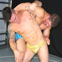 Dominic Marco abdominal stretch submission hold submit abs