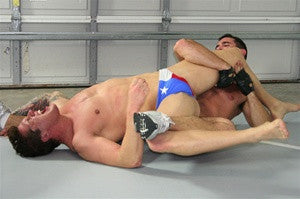 Ace Hanson Dallas leg lock pecs abs