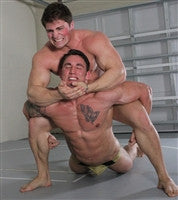 dominic mutant camel clutch submission hold submit abs chest pecs
