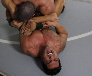 Eric Fury Dozer mat wrestling submission hold pain